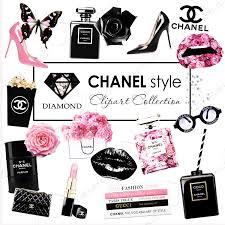coco chanel clipart fashion clipart planner clipart