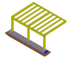 struttura in legno per tettoia ing marco gelati