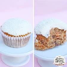 healthy carrot cake cupcakes super sister fitness