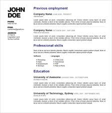 Simple Online Resume Resume Design Template Psd U2013 11 Free Samples Examples Format