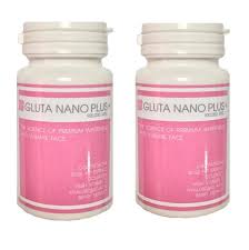 Gluta Nano gluta nano plus 2 bottles skincarebody shopping
