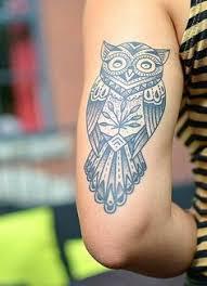 cordage owl arm tattoo owl tattos design ideas pinterest