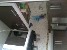 Kitchen Set Aluminium Kitchen Set Dengan Finishing Hpl Motif Kayu