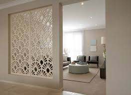 how to use a wall screen divider in the living room