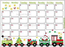 christmas calendar templates to print printable christmas with