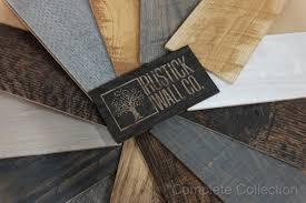 rustick wall co 60 reclaimed wood wall paneling in weathered oak