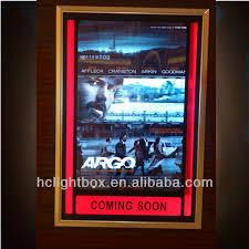 lighted movie poster frame lighted movie poster frames light box cinema light box buy movie