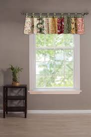 amazon com greenland home antique chic 21 x 84 inch cotton window