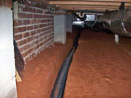 crawl space drain system get water out of your crawl space