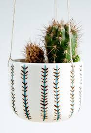 hanging planter basket decoration modern wall planter small hanging plant pots indoor