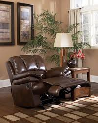 Best Recliner Sofa by Furniture Black Leather Double Seat Recliner Sofa With Arm And