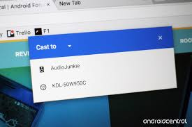 cast extension android how to use cast in chrome android central