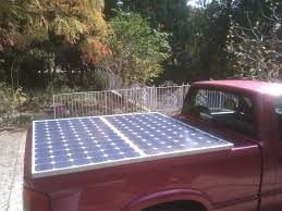Electric Bed Cover Solar Panels On The Electric Truck Jay U0027s Technical Talk