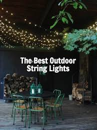 attractive outdoor string lights led outdoor patio string lights