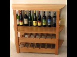 wood wine rack table wine glass rack and bottle holder ideas