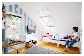 15 design attic bedroom for teenagers