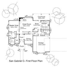 mission floor plans the san gabriel 5813 4 bedrooms and 2 baths the house designers