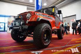 jeep cj8 2017 sema rengade iii red jeep cj 5