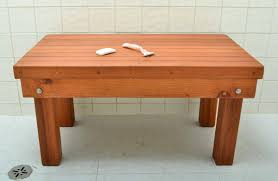 patio shower bench outdoor wood bench for shower