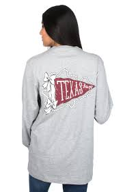 Texas Flag For Sale Final Sale Texas A U0026m Pennant Flag Long Sleeve U2013 Lauren James