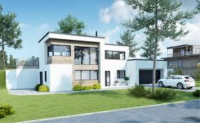 Atrium House by Kataloghus U 370 Moderne Bolig På To Plan Med Garasje Urbanhus