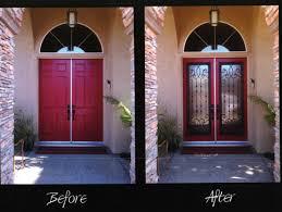 can you use an existing door for a barn door iron door conversions premier one improvements inc