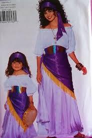 Gypsy Halloween Costumes Amazon Butterick 4653 Gypsy Costume Pattern Misses U0027 6 18