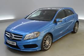used mercedes benz a class blue for sale motors co uk