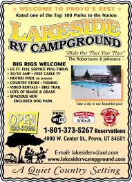 Utah State Parks Map by Utah Rv Parks Campgrounds Rv Camping In Utah Good Sam Club