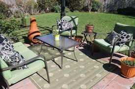 texas decor patio makeover ballard designs outdoor rug