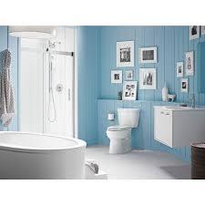 kohler levity frameless sliding shower door kohler levity frameless sliding shower door nickel with handle the home depot