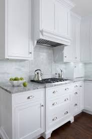 marble subway tile kitchen backsplash a mid century house design project white shaker cabinets marble