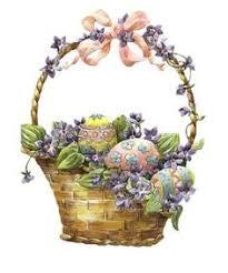 vintage easter baskets basket of flowers graphics flowers flowers