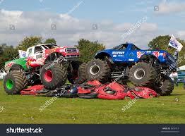monster truck shows uk two 4x4 monster trucks uk car stock photo 5659213 shutterstock