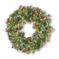 lighted outdoor wreath how to make a large lighted outdoor wreath
