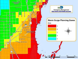 University Of Miami Map Hurricane Irma Am I In An Evacuation Zone See Miami Dade Map