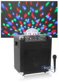 ion bluetooth speaker with lights ion party rocker ipa22b black bluetooth wireless speaker system