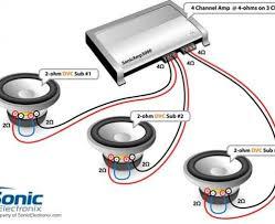 car subwoofer wiring diagram car wiring diagrams