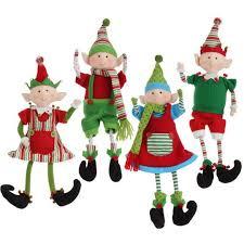 Christmas Cutout Decorations Super Idea Elf Christmas Decorations Stylish Ideas Door Hanger