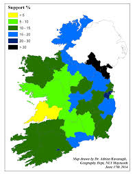 2014 Election Map by Their Day Has Come Reviewing Sinn Fein U0027s Local And European