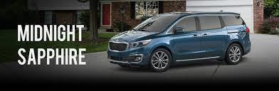 Interior Kia Sedona 2017 Kia Sedona Exterior Paint Options And Interior Fabric Choices
