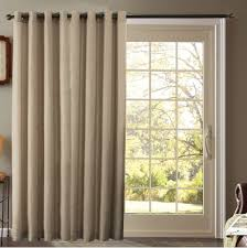 window treatment ideas for doors blind mice covering kitchen patio