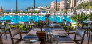 monte carlo cuisine the deck in monte carlo a stylish restaurant with a terrace by the