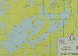 Boundary Waters Map Catamaran Canoe Trip Seagull Canoe Outfitters U0026 Lakeside Cabins