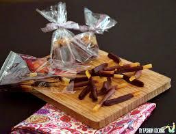 actu cuisine orangettes au chocolat recette de cuisine mademoiselle cuisine