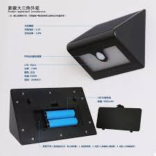 solar motion sensor outdoor light newst bright 50leds solar light solar motion sensor wall lamp