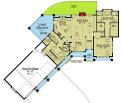 custom house plan exclusive 3 bedroom custom house plan 18260be architectural