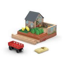 Fisher Price Barn Bounce House Thomas U0026 Friends Wooden Railway Mccoll U0027s Farm Chicken Coop Dfx05