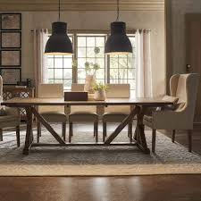 Dining Room Table Reclaimed Wood Rustic Reclaimed Wood Rectangular Trestle Farm Table By