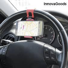 supporto volante supporto per cellulari per volante auto innovagoods innova goods